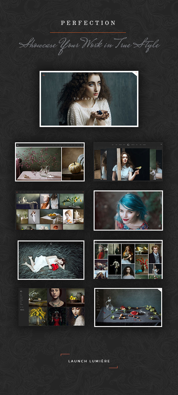 Lumière - Photography Portfolio Theme - 1